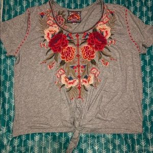Johnny Was Tops - Johnny was women's float shirt